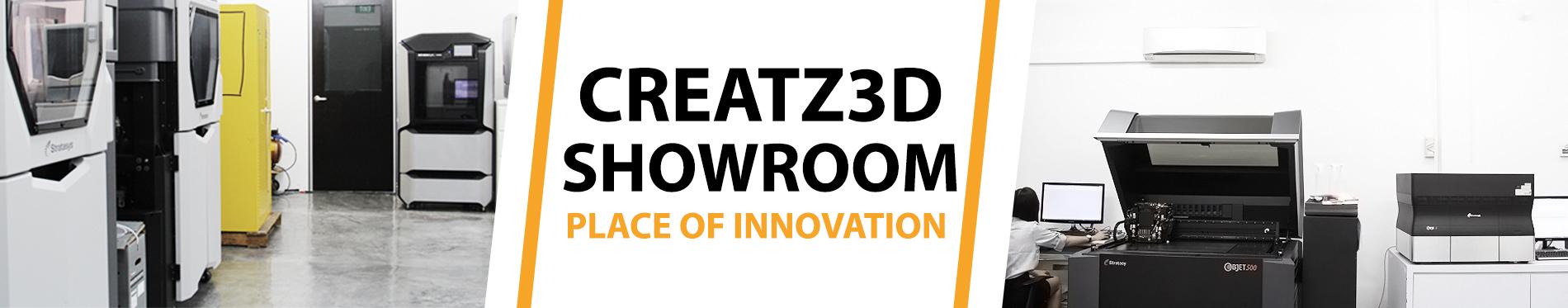 Creatz3d showroom