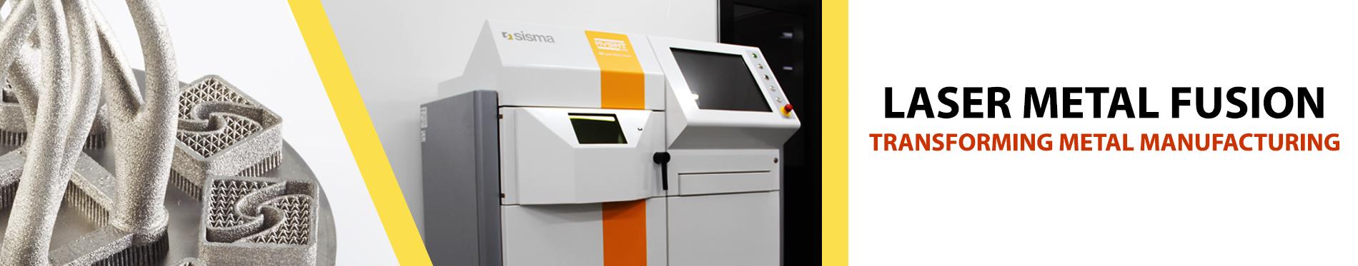 sisma laser metal fusion 3d printer