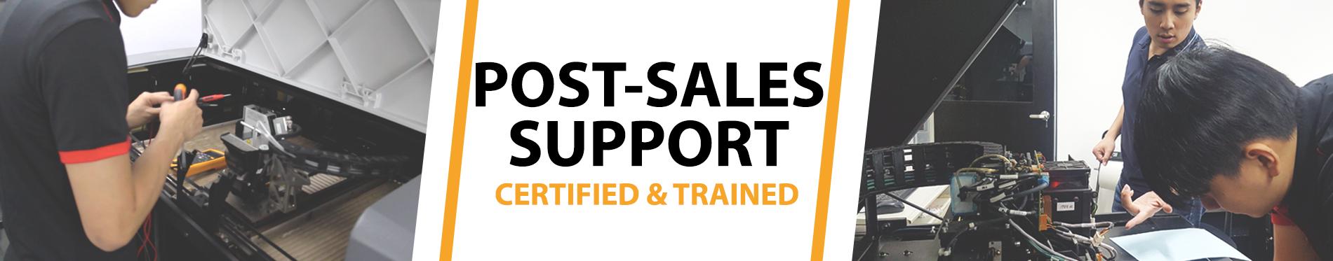 creatz3d post-sales support