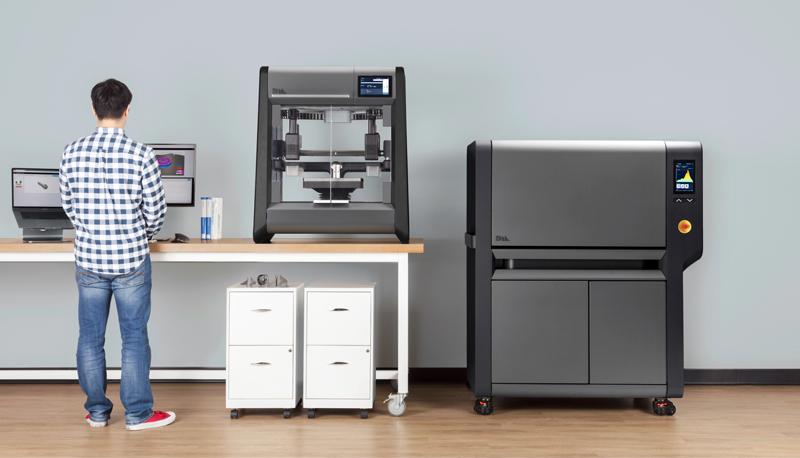 Máy in 3D kim loại văn phòng Studio System của Desktop Metal