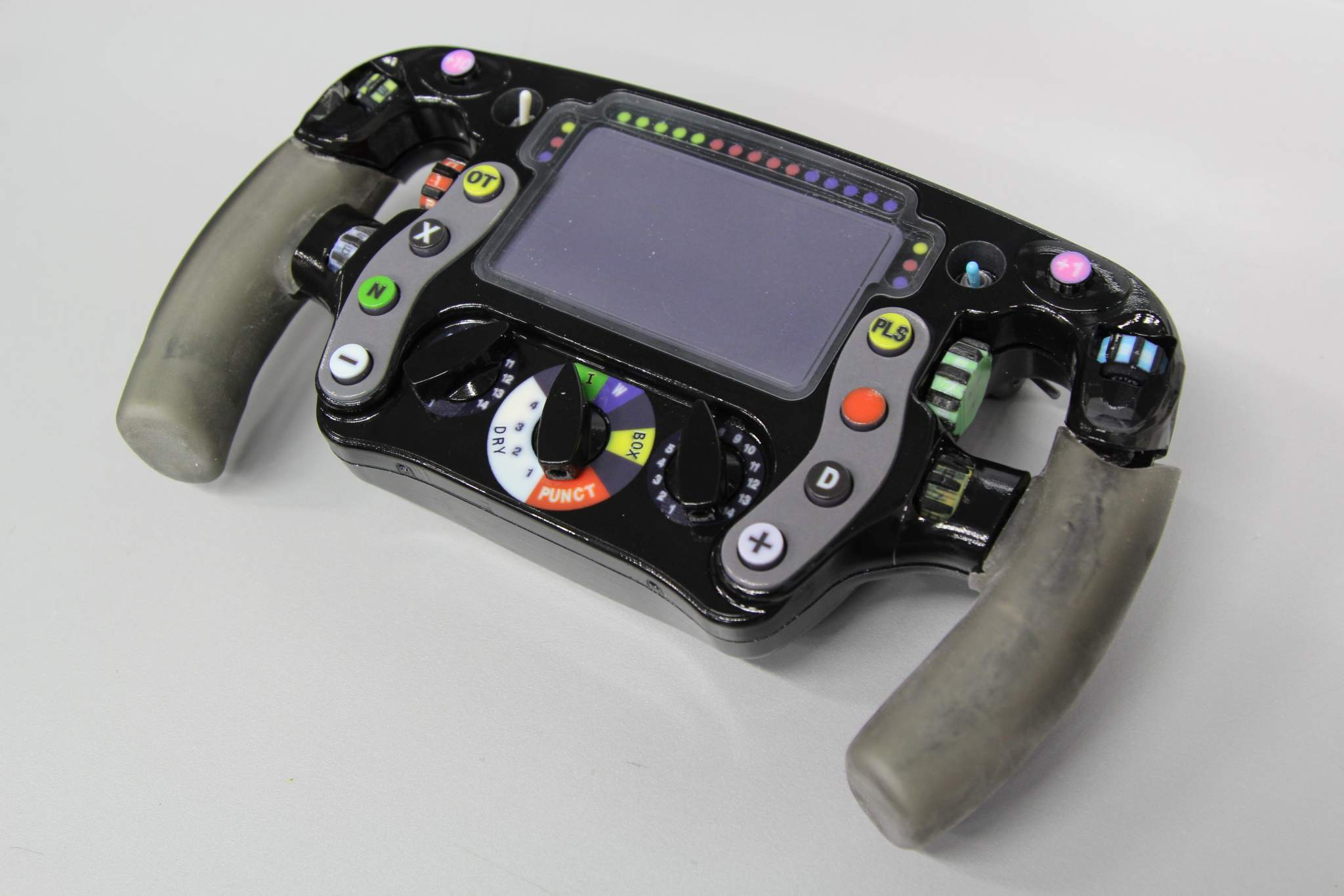 3D Printed Steering Wheel of a McLaren Racing F1 car