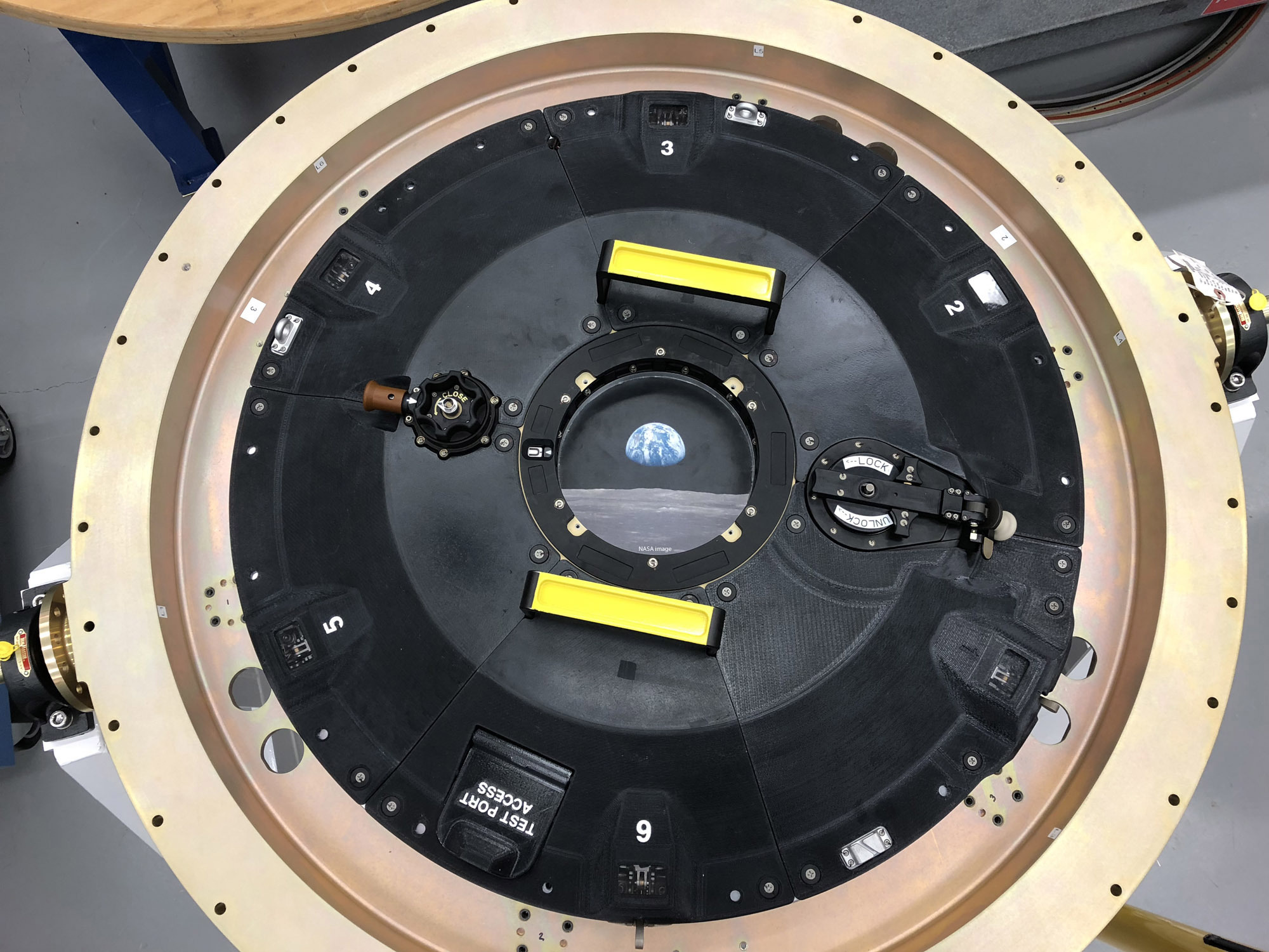 The Orion spacecraft leverages a variant of new Stratasys Antero 800NA to build an intricately-connected 3D printed docking hatch door