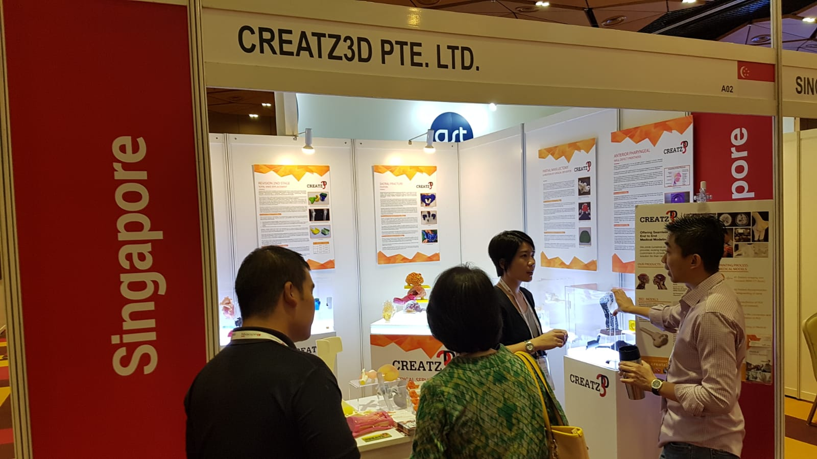Creatz3D Medical @ Radiology Asia 2018 #1