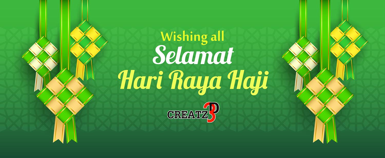 Selamat Hari Raya Haji From Creatz3d Creatz3d