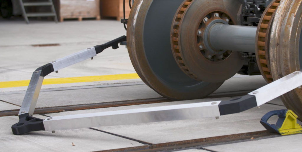 Customized turnaround one-off tools for each bogie can be produced in a matter of hours.
