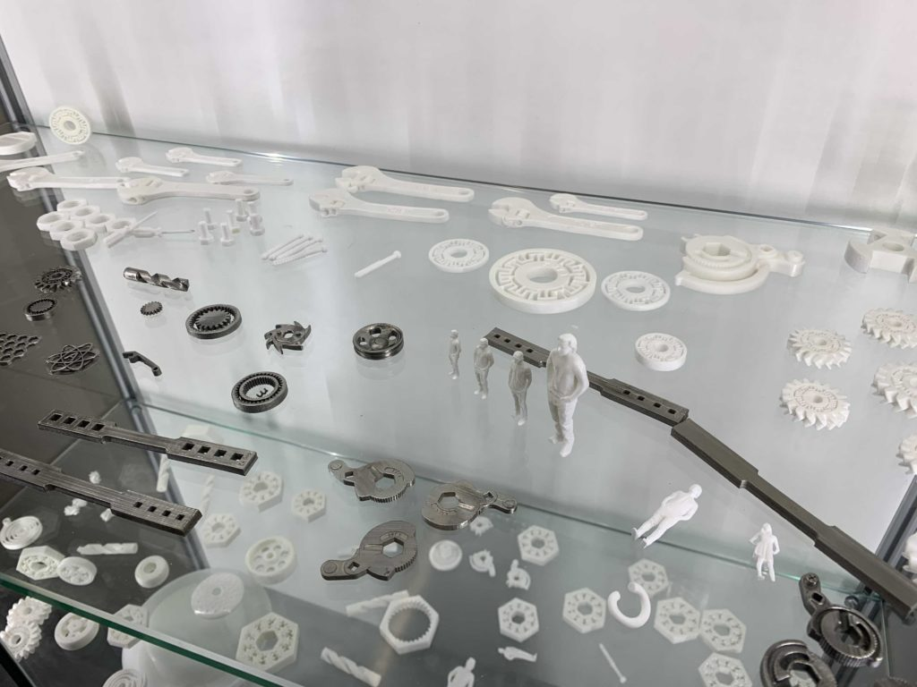 Metal and Ceramic parts from XJET Carmel AM Systems.
