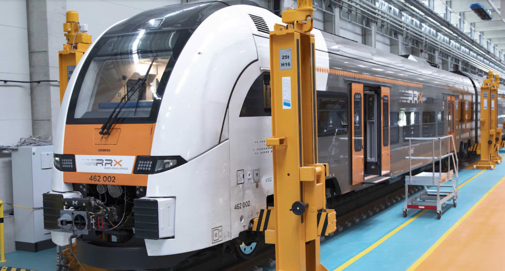 Siemens Mobility RRX Rail Service Center