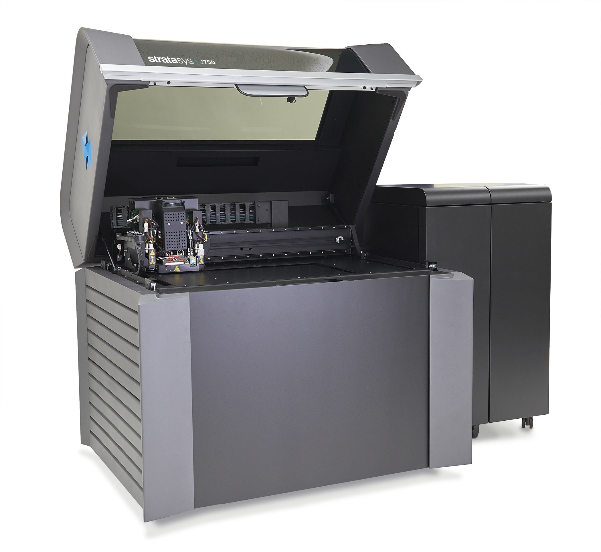 J750 3D printer is validated with the Materialise FDA-cleared software, with a selection of 8 different materials