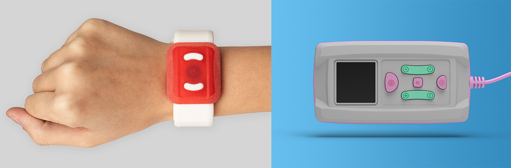 Watchband, Medical Device printed with Agilus30 White.