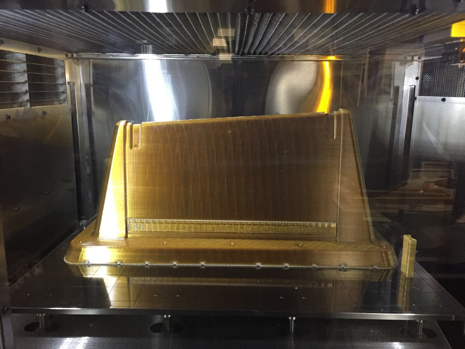 Preform tool produced with the Stratasys F900 Production System using ULTEM™ 1010 resin.