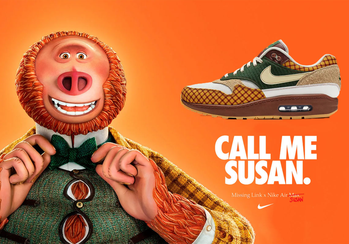 Laika Missing Link x Nike Air Max Susan