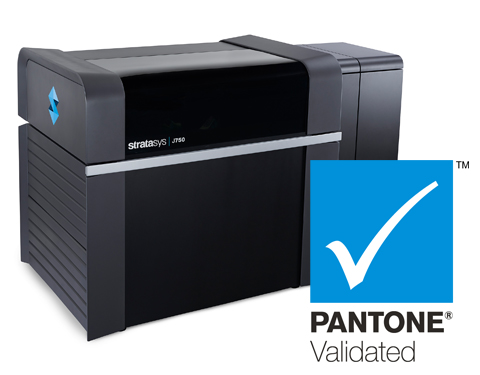 Stratasys J750 is now PANTONE validated.