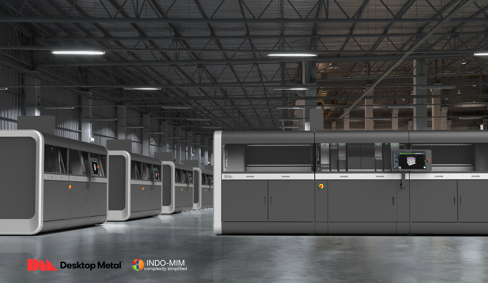 The Production System is the world's first and only metal 3D printing system for mass production that delivers the speed, quality, and cost-per-part needed to compete with traditional manufacturing processes.