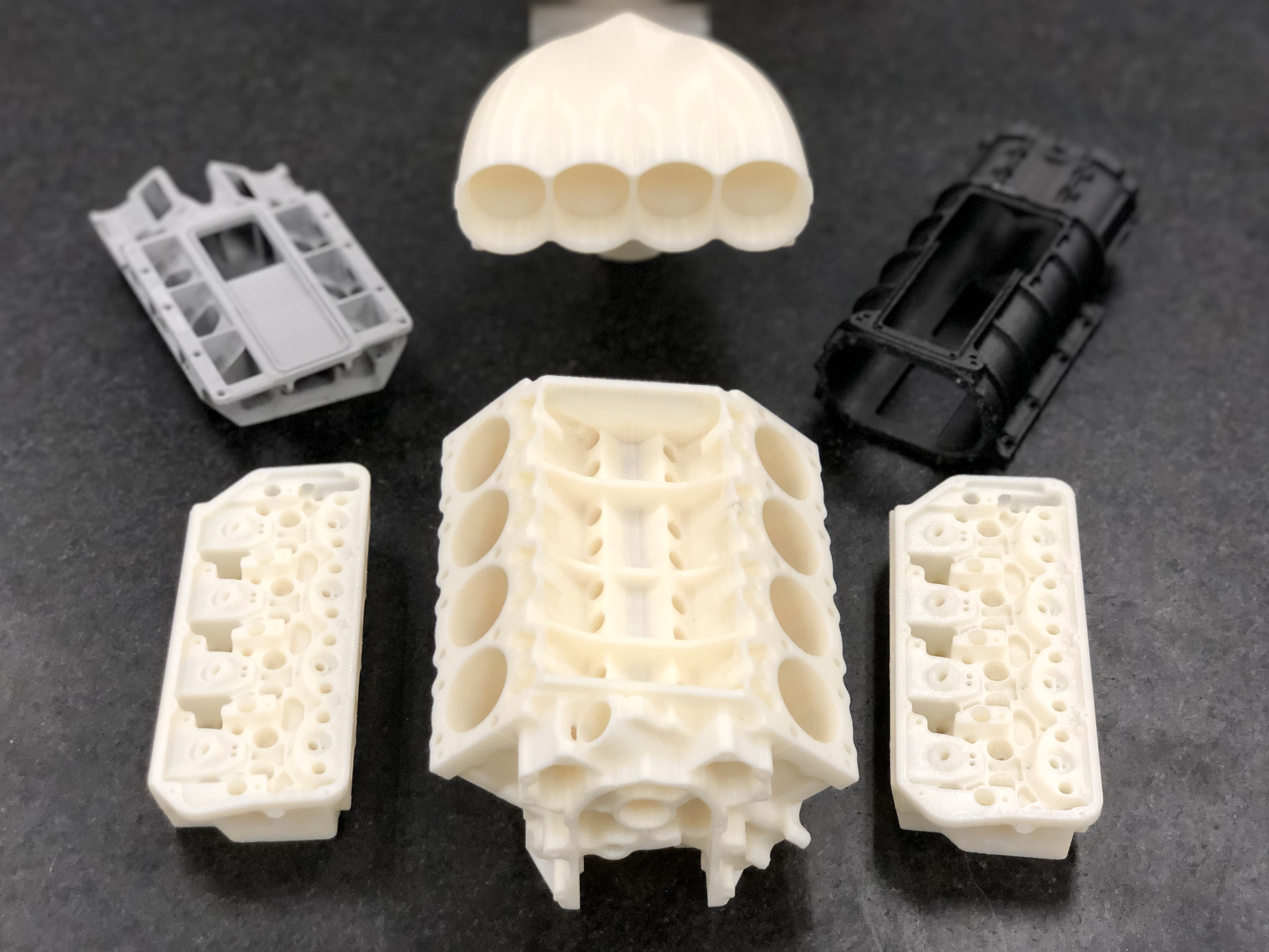 Accelerating prototype development and produce proof-of-concept, finished ultralight usable components with Stratasys Fortus 450mc and F370 3D Printers.