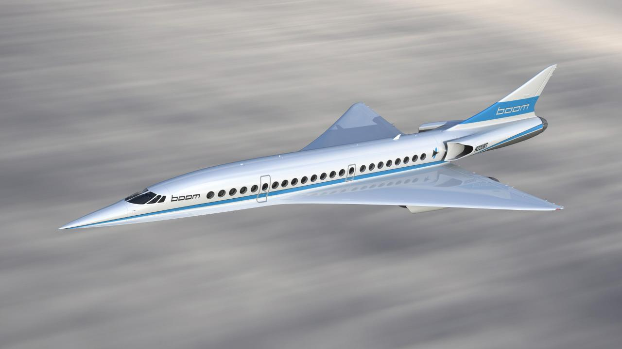 Boom Supersonic Overture.