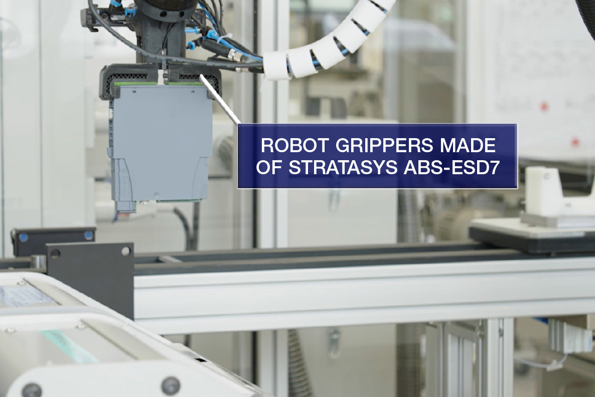 Grippers can be designed compactly and applications such as complex vacuum channels in the basic body can be realised.