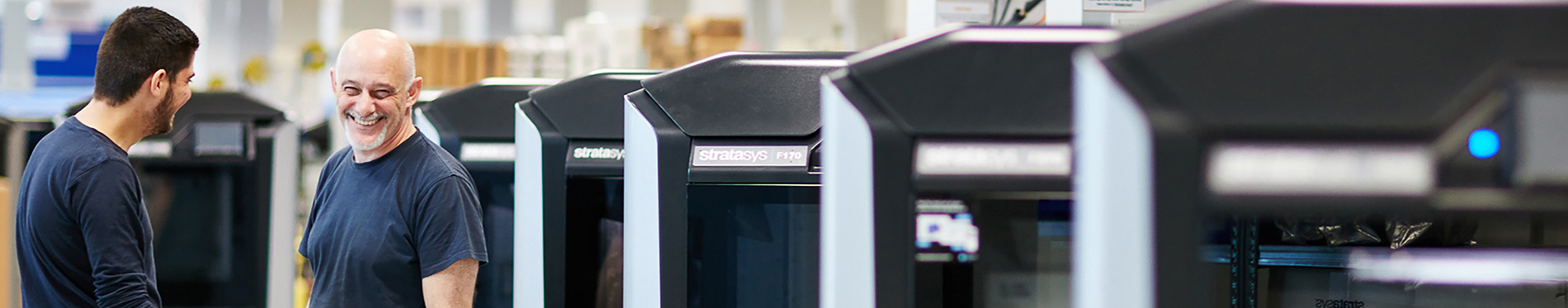 Stratasys Plastic 3D Printers - Creatz3D banner