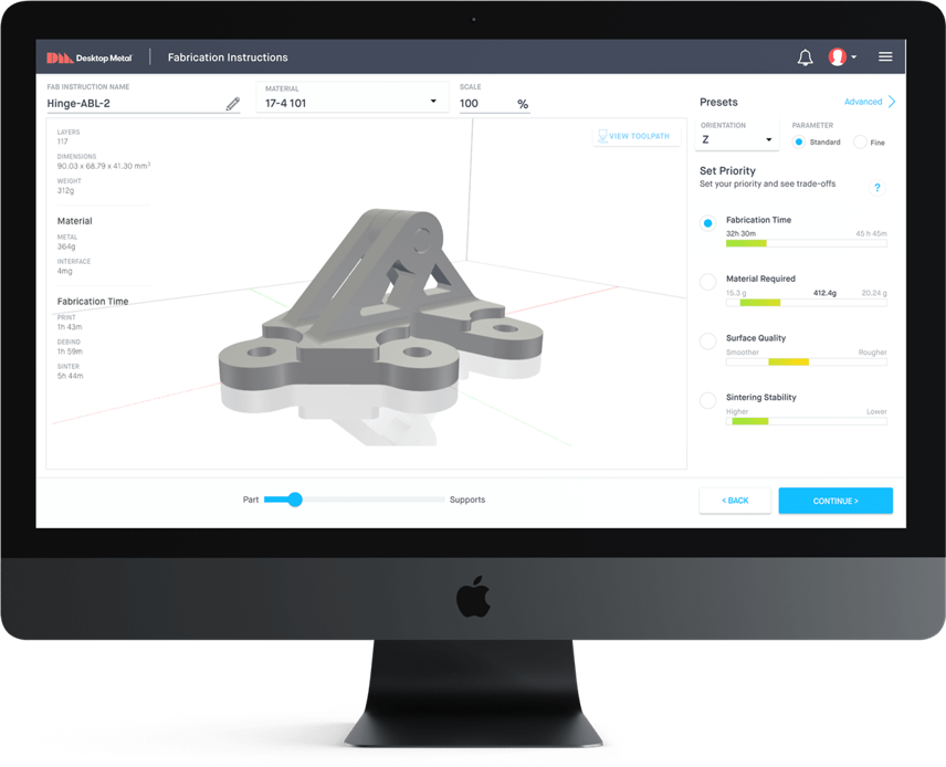 Fabricate software automates the process without the need to tinker
