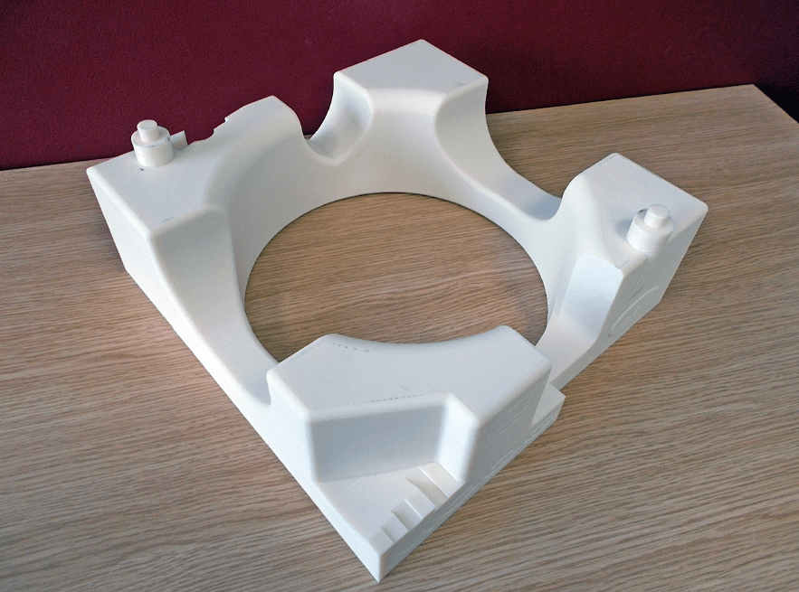 More stable parts are produced with Stratasys F380mc.