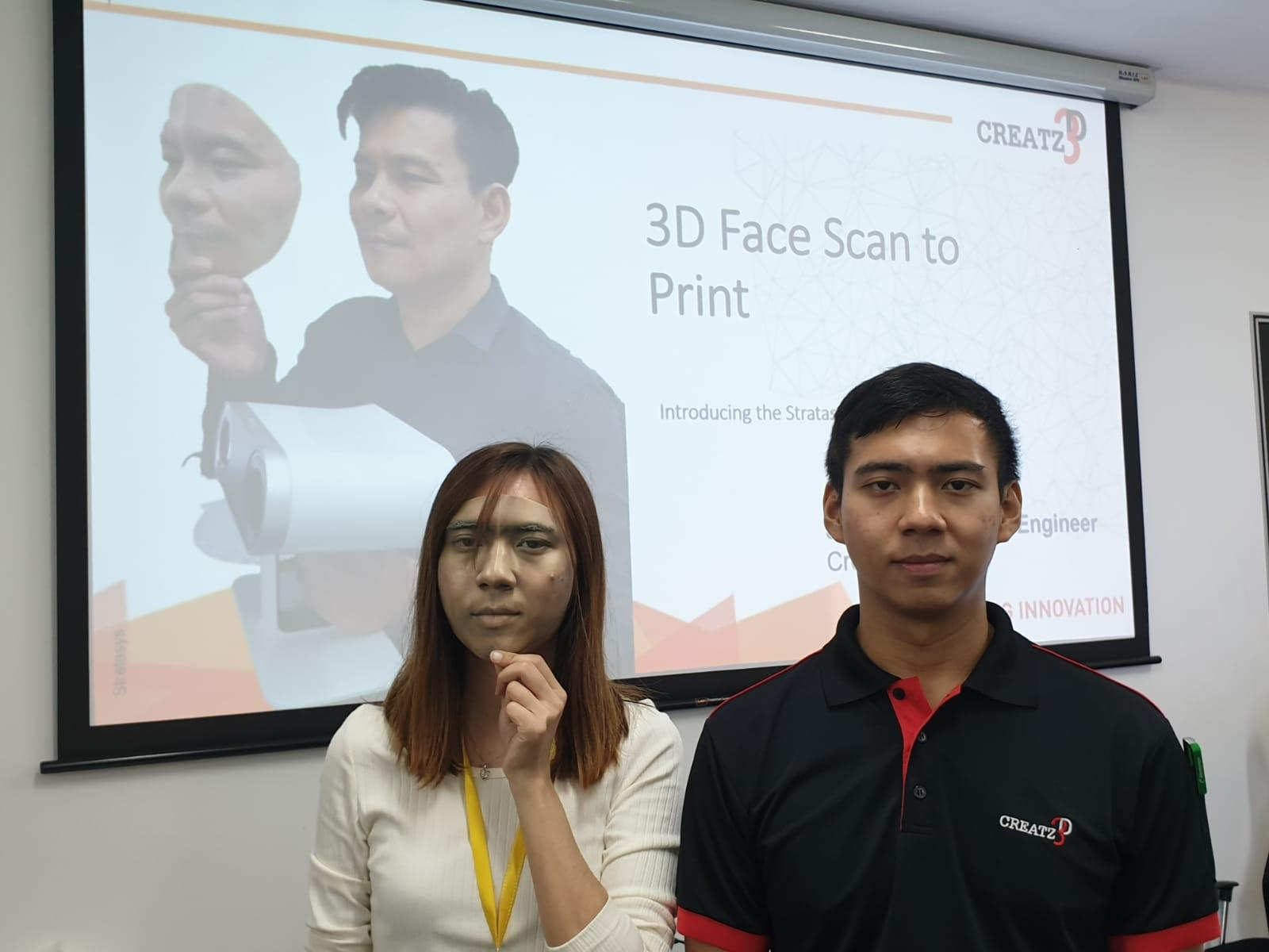 Realistic 3D Scan to 3D Print demonstration.