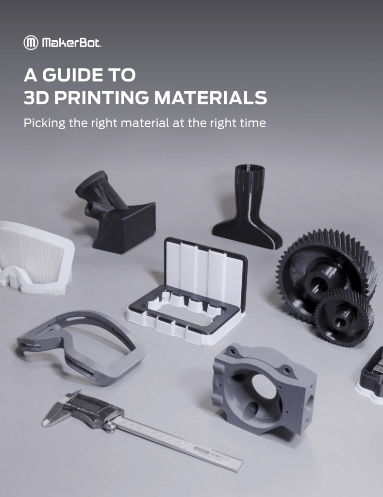 White Paper – The 2020 Guide to 3D Printing Materials