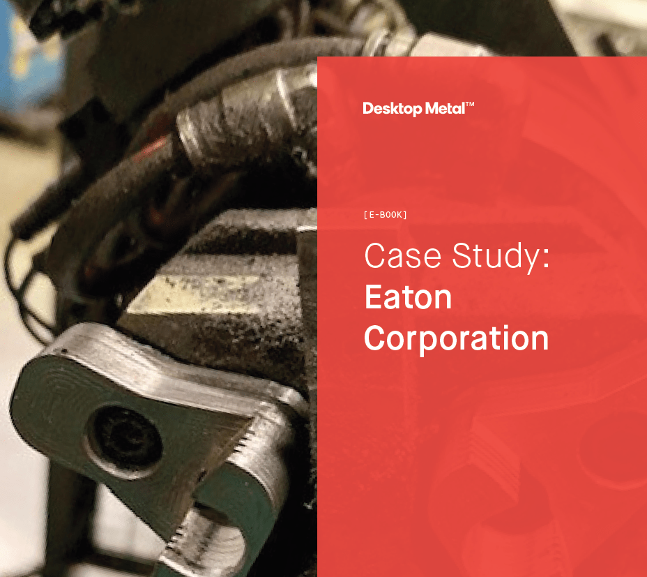 Eaton Corporation opens new design possibilities with metal 3D printing