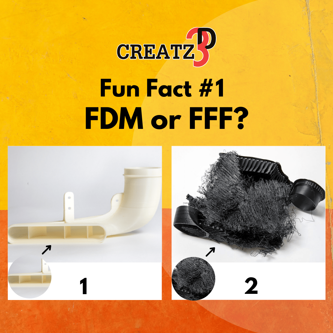 Creatz3D Fun Fact Series #1 – FDM and FFF: Interchangeable But Different?