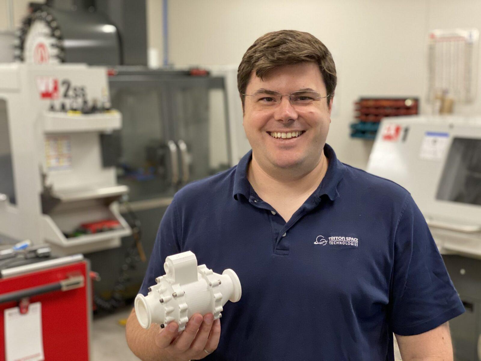 Triton Space Technologies Designs Complex Rocket Parts with MakerBot METHOD X
