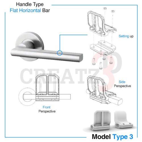 Door-Opener-Type-3-Creatz3D