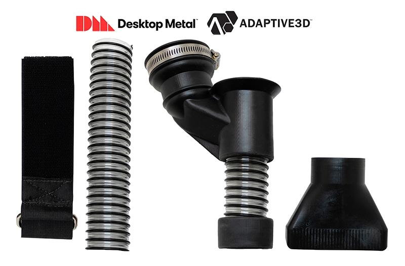 Volume end-use parts production of printed elastomers for additive manufacturing. (Photo: Adaptive3D)