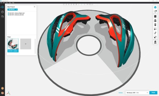 savAR Helmet Design in GrabCAD Print (photo: Thinkable Studio)